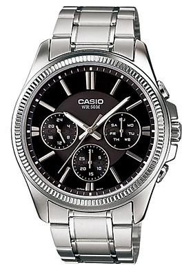 Đồng hồ nam dây kim loại Casio MTP-1375D-1AVDF