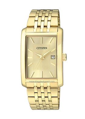Đồng hồ Nam Citizen dây kim loại pin kính cứng BH1673-50P