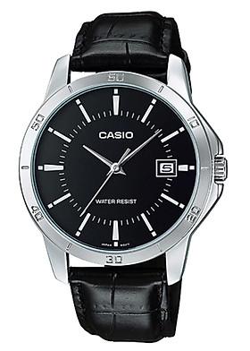 Đồng hồ nam dây da Casio MTP-V004L-1AUDF