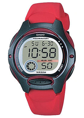 Đồng hồ nữ dây nhựa Casio LW-200-4AVDF