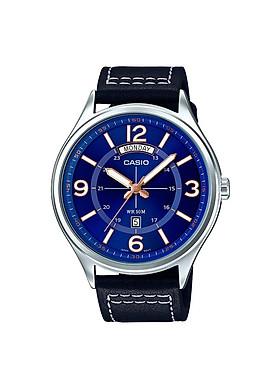 Đồng hồ đeo tay chính hãng Casio MTP-E129L-2B1VDF