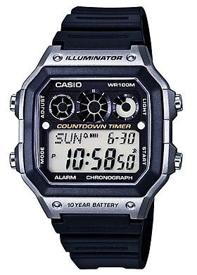Đồng hồ nam dây nhựa Casio AE-1300WH-8AVDF