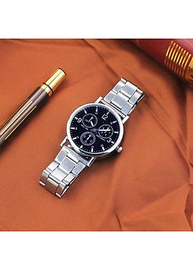 Đồng hồ nam cao cấp dây đeo kim loại lịch lãm DH100