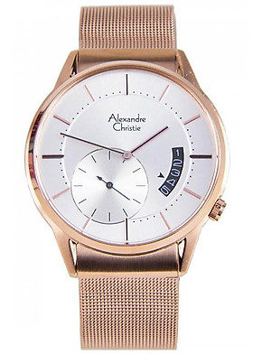 Đồng hồ đeo tay hiệu Alexandre Christie 8519MSBRGSL