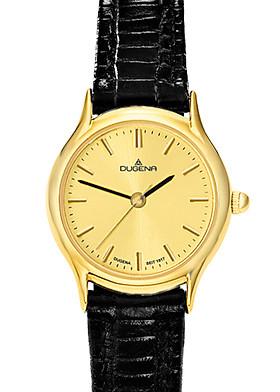 Đồng hồ Dugena nữ Vintage 1626331 dây da đen