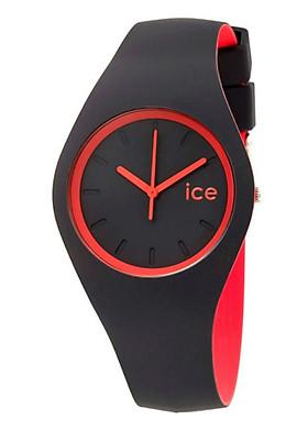 Đồng Hồ Nam Dây Cao Su ICE 001501 - Đen Đỏ (41mm)