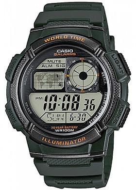 Đồng hồ nam dây nhựa Casio AE-1000W-3AVDF