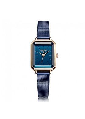 Đồng hồ nữ Julius Hàn Quốc JA-1223 dây mesh hình chữ nhật (nhiều màu)