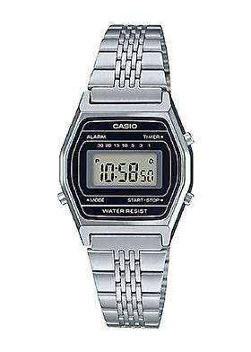 Đồng hồ nữ Casio điện tử dây thép LA690WA-1DF (27mm)