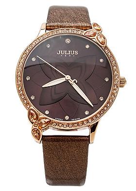 Đồng hồ Nữ Julius Ju1074 Nâu