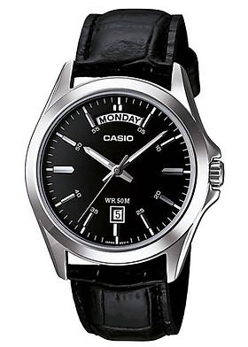 Đồng hồ nam dây da Casio MTP-1370L-1AVDF