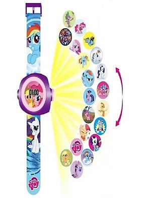 Đồng hồ chiếu 20 hình ngựa cho bé