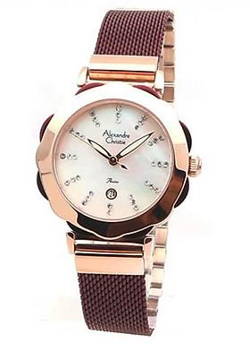 Đồng hồ đeo tay hiệu Alexandre Christie 2755LDBRDMS