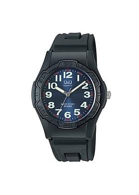 Đồng hồ nam thể thao Q&Q  VP94J003Y kim dạ quang dây nhựa thương hiệu Nhật Bản