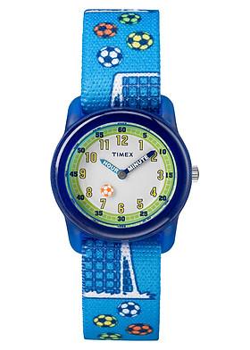 Đồng hồ Trẻ em Timex Kids Analog Elastic Fabric Strap Watch - TW7C16500 (28mm)