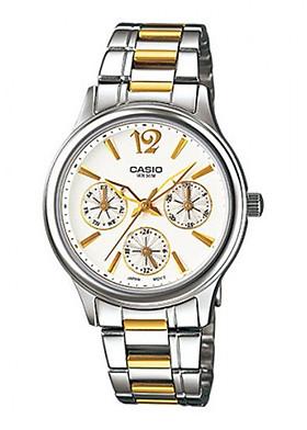 Đồng hồ Casio Nữ dây Kim loại kính Cứng LTP-2085SG-7AVDF