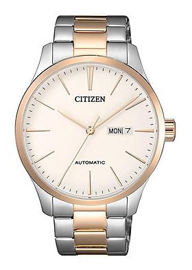 Đồng hồ Nam Citizen dây kim loại Automatic (Tự Động) kính cứng NH8356-87A
