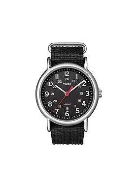 Đồng hồ Timex Unisex T2N647MK Weekender Black Watch 38mm