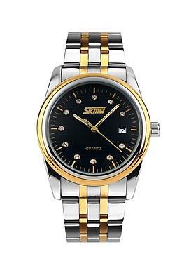 Đồng hồ nam dây inox Skmei 9099CS