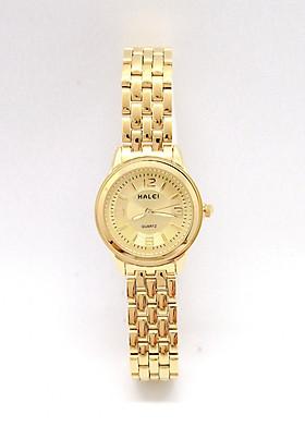 Đồng hồ Nữ Halei  HL 472 dây vàng + Tặng Combo TẨY DA CHẾT APPLE WHITE PELLING GEL BEAUSKIN chính hãng