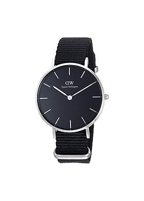 Đồng hồ thời trang nữ DANIEL WELLINGTON PETITE CORNWALL SILVER BLACK 32MM DW00100216