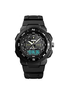 Đồng hồ thể thao điện tử nam kỹ thuật số dây thép SKMEI 1454