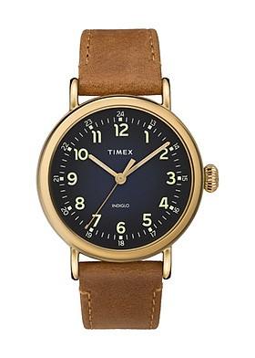 Đồng hồ Dây Da Nam Timex Standard 40mm Leather Strap Watch - TW2T20000