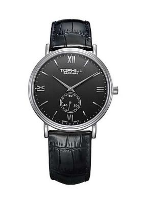 Đồng hồ nam dây da chính hãng Thụy Sĩ TOPHILL TA021G.PB1197