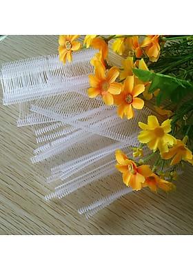 Hình ảnh Dây nhựa trắng 3-5-7cm xỏ, gắn mác quần áo-5000c