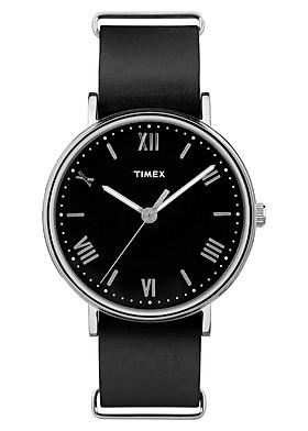 Đồng Hồ Nam Dây Da Timex Southview TW2R28600 (41mm) - Đen