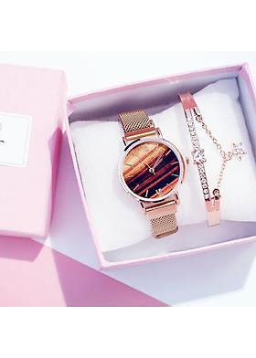 Đồng hồ đeo tay nam nữ unisex tacona thời trang DH34