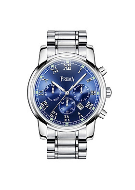 Đồng hồ nam dây kim loại Prema 3278