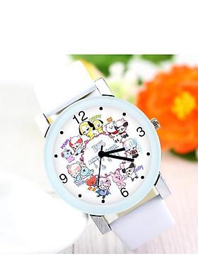 Đồng hồ bt21 phong cách dễ thương