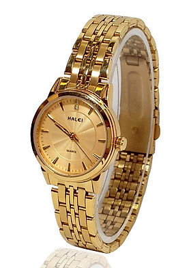 Đồng hồ Nữ Halei - HL552 Dây vàng mặt vàng