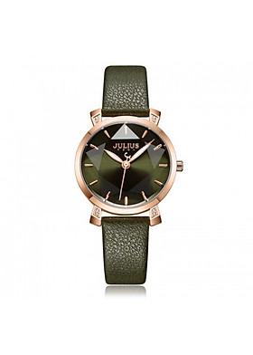 Đồng hồ nữ Julius Hàn Quốc JA-1158 dây da