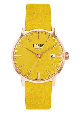 Đồng Hồ Unisex Henry London HL40-S-0364 - Dây Da