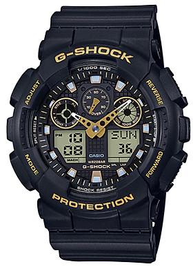 Đồng hồ nam dây nhựa Casio G-SHOCK GA-100GBX-1A9DR