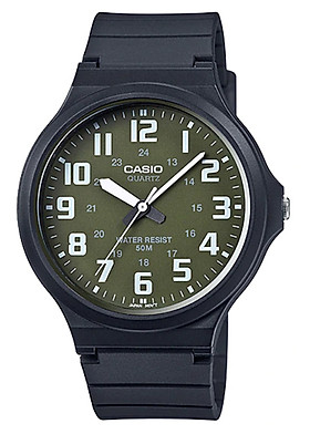 Đồng hồ nam dây nhựa Casio MW-240-3BVDF