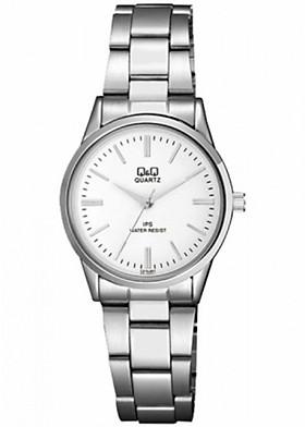 Đồng hồ nữ Q&Q Citizen C215J201Y dây sắt thương hiệu Nhật Bản