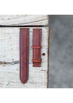 Dây da đồng hồ thủ công handmade ANDI912 giành cho nam và nữ mang đến sang trọng và tinh tế