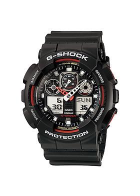 Đồng hồ nam Casio G-Shock chính hãng GA-100-1A4DR