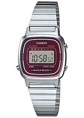 Đồng hồ nữ dây kim loại Casio LA670WA-4DF