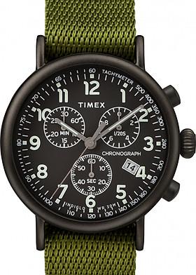 Đồng hồ Dây Vải Timex nAM Standard Chronograph 41mm Fabric Strap Watch - TW2T21400