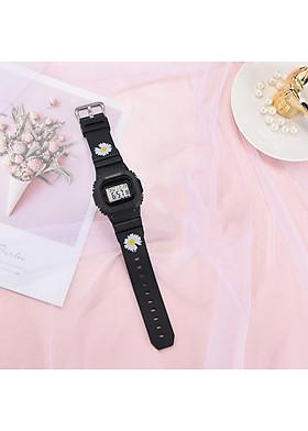 Đồng hồ điện tử nam nữ dây hoa cúc thời trang sành điệu DH106
