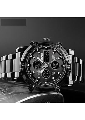 Đồng hồ nam dây thép nguyên khối SKMEI SK-3523