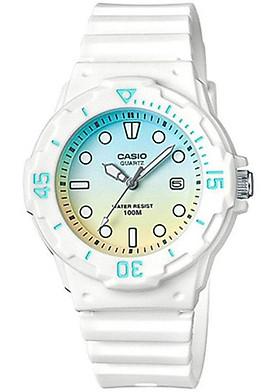 Đồng hồ nữ dây nhựa Casio LRW-200H-2E2VDR