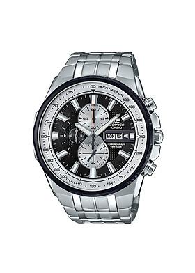 ĐỒNG HỒ CASIO EDIFICE EFR-549D-1BVUDF Mặt đồng hồ 6 kim - Dây kim loại chắc chắn - Chính hãng đến từ Nhật Bản