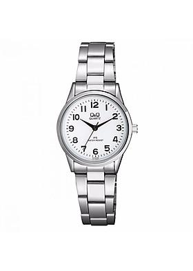 Đồng hồ nữ Q&Q  C215J204Y dây kim loại  thương hiệu Nhật Bản