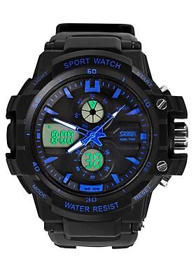 Đồng hồ nam dây cao su SKMEI 0990