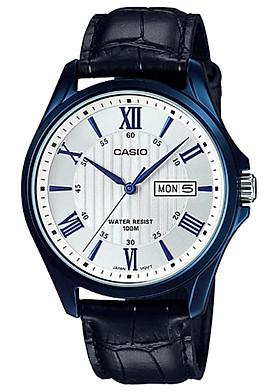 Đồng hồ nam dây da Casio MTP-1384BUL-7AVDF